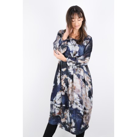 Sahara Japanese Blossom Print Dress - Multicoloured