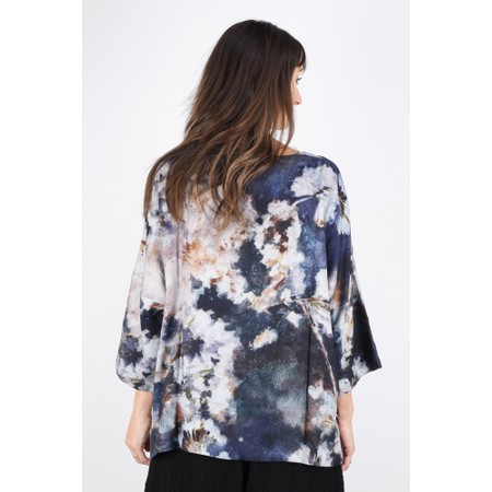 Sahara Japanese Blossom Print Top - Multicoloured