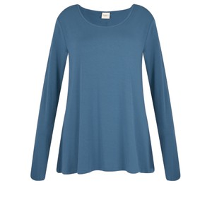 BY BASICS Heidi A-Shape Round Neck Bamboo Jersey Top
