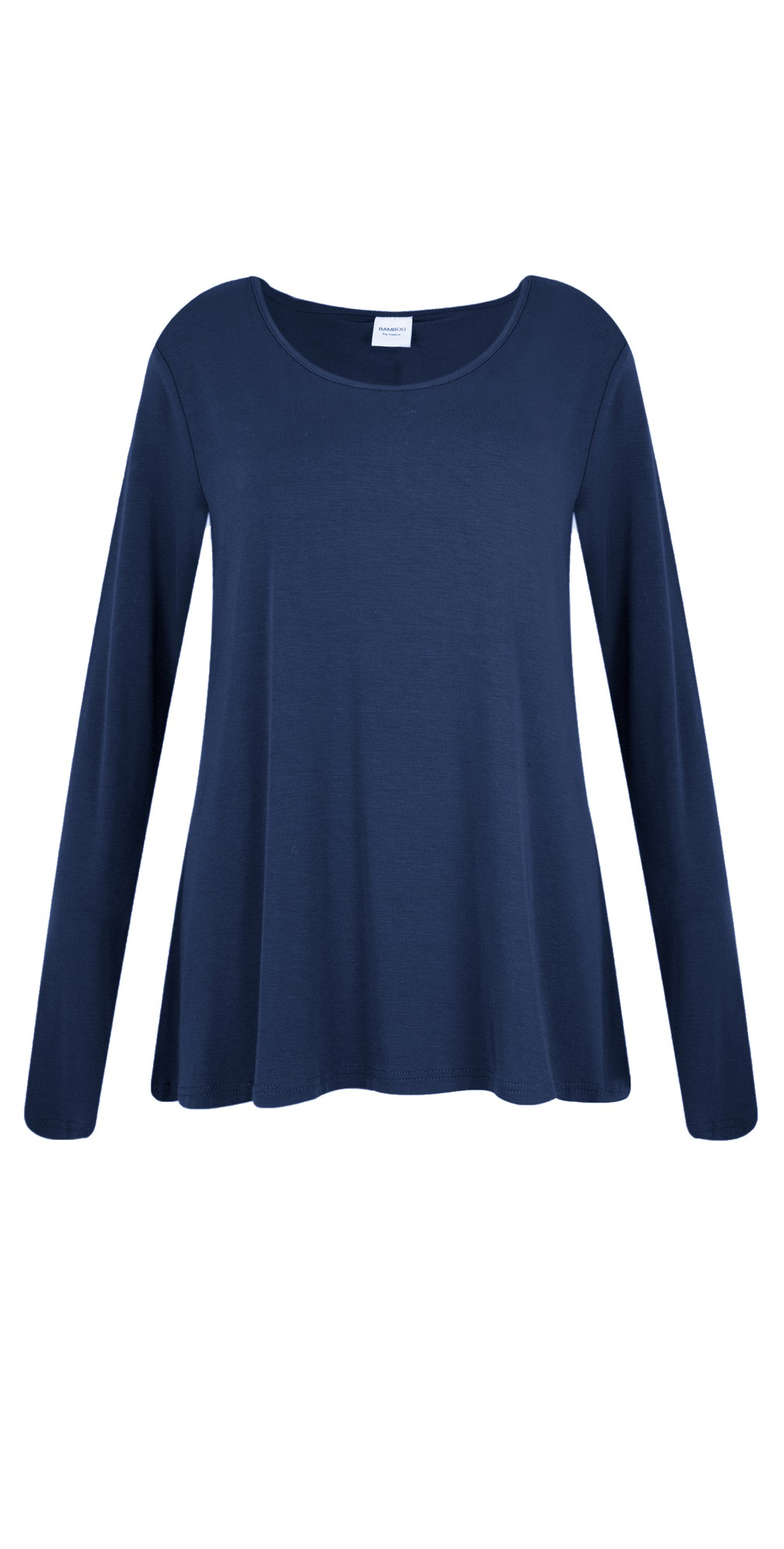 Heidi A-Shape Round Neck Bamboo Jersey Top main image