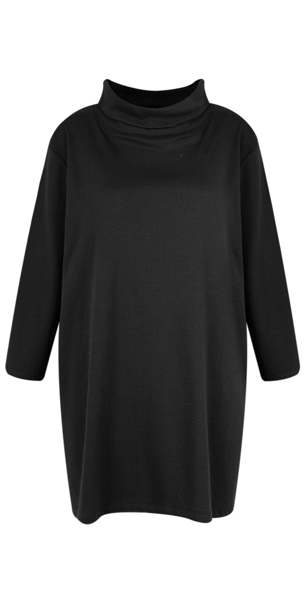 Clara Easyfit Organic Cotton Roll Neck Top main image