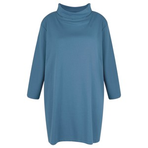 BY BASICS Clara Easyfit Organic Cotton Roll Neck Top