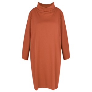 BY BASICS Maya Roll Neck EasyFit Dress