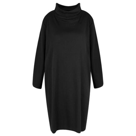 BY BASICS Maya Roll Neck EasyFit Dress - Black