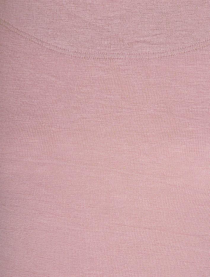 BY BASICS Mette Three Quarter Sleeve Blusbar Merino Top Rose 500