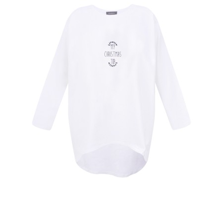 Chalk Robyn My Christmas Top - White