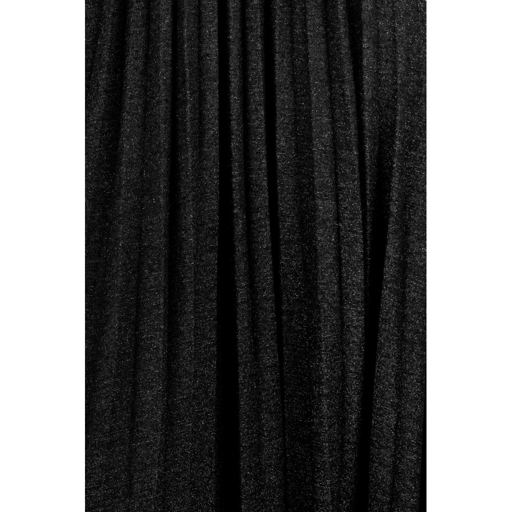 Luella Sparkle Pleated Skirt Black