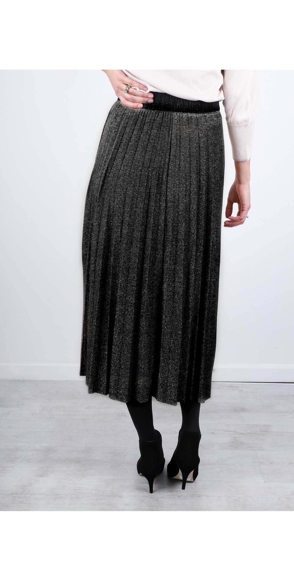 Sparkle Pleated Skirt main image