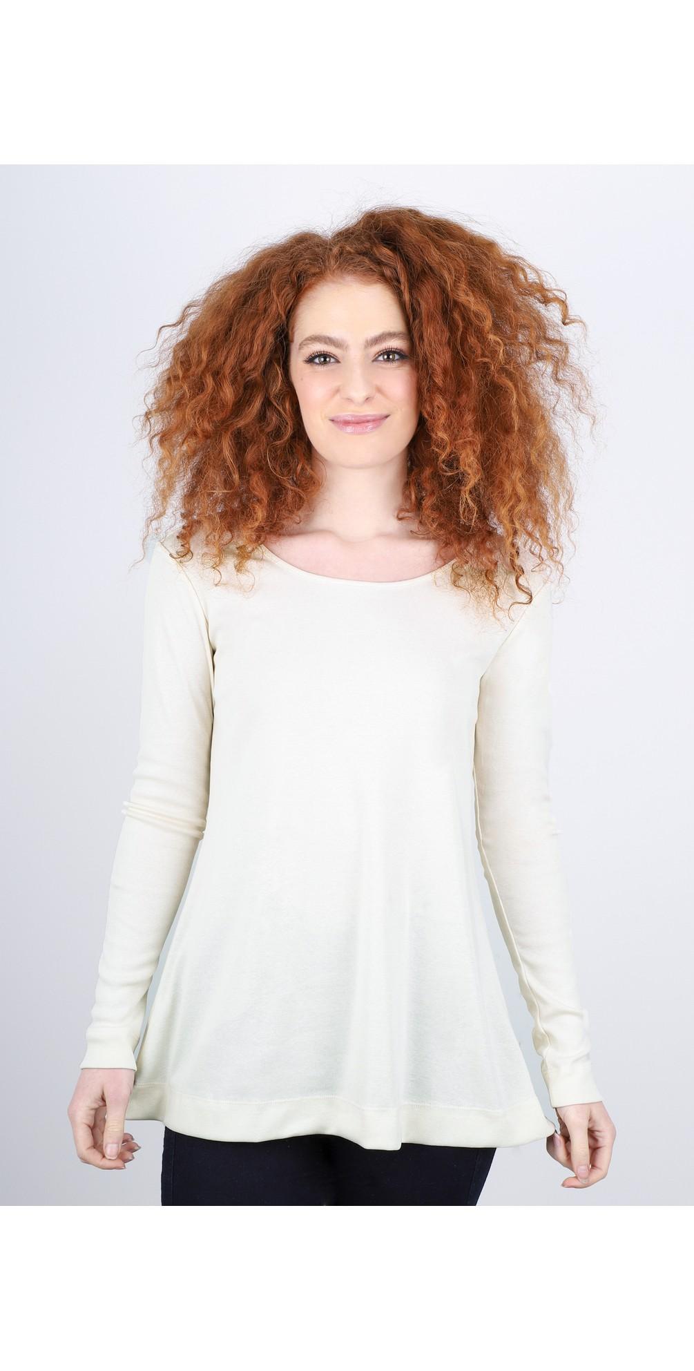 Anya Round Neck Organic Cotton Top main image