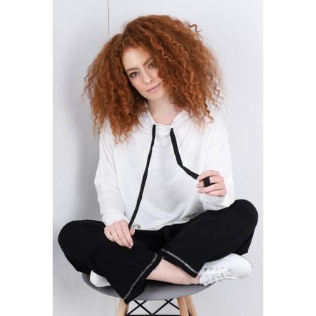 Sundae Tee Kelis Hooded Lounge Top - Off-White
