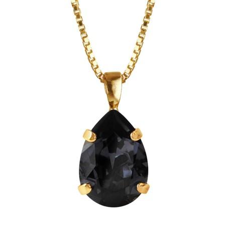 Caroline Svedbom Mini Drop Necklace  - Grey