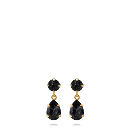 Caroline Svedbom Mini Drop Earring - Grey