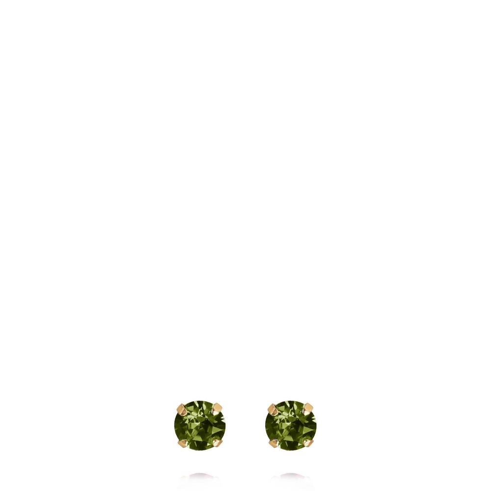 Caroline Svedbom Classic Stud Earring Olivine / Gold