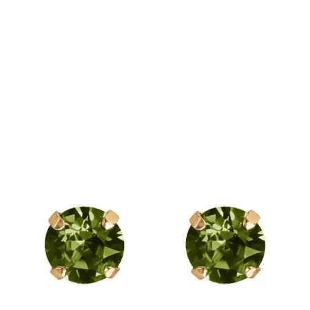 Caroline Svedbom Classic Stud Earring - Green