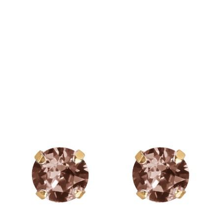 Caroline Svedbom Classic Stud Earring - Pink