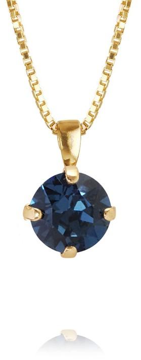 Caroline Svedbom Classic Petite Necklace Montana / Gold