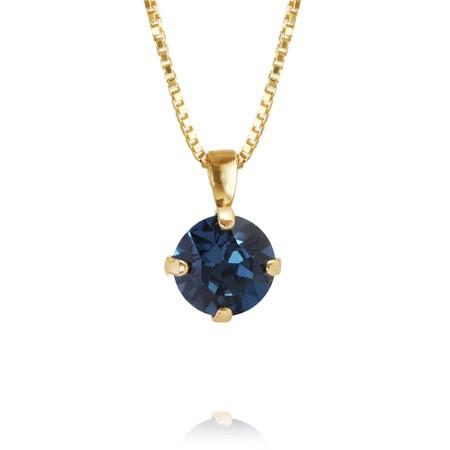 Caroline Svedbom Classic Petite Necklace - Blue