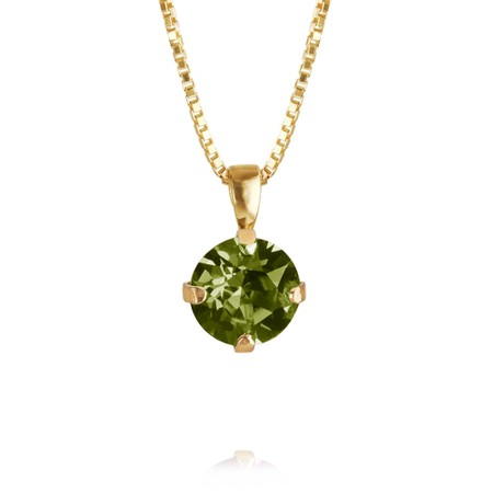 Caroline Svedbom Classic Petite Necklace - Green
