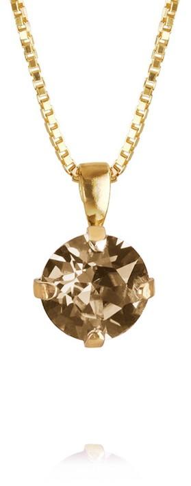 Caroline Svedbom Classic Petite Necklace Golden Shadow / Gold