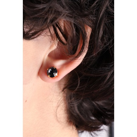 Caroline Svedbom Classic Stud Earring - Grey