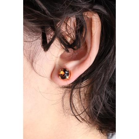 Caroline Svedbom Classic Stud Earring - Brown