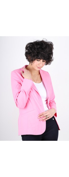 Robell Emilia Fitted Jacket Rose Pink 420