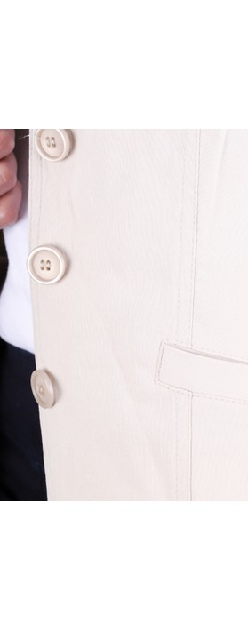 Robell Emilia Fitted Jacket Beige 14