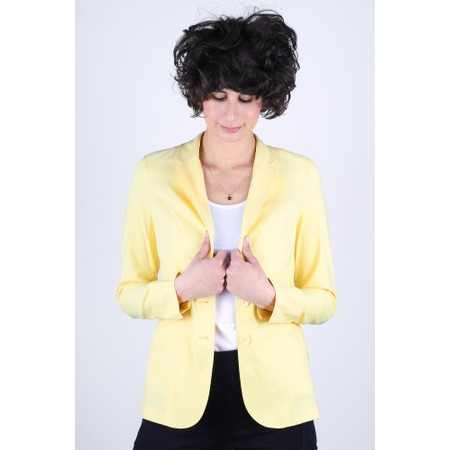 Robell  Emilia Fitted Jacket - Yellow