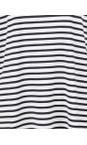 Chalk Navy / White Robyn Stripe Top