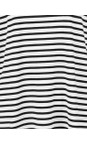 Chalk Black / White Robyn Stripe Top