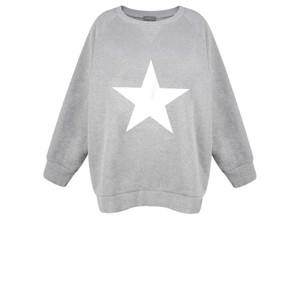 Chalk Ruby Star Sweatshirt