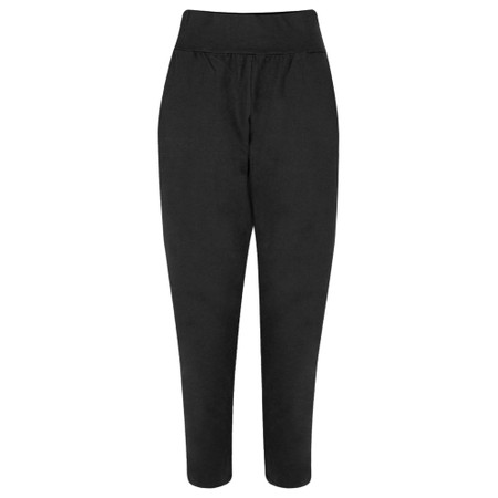 Chalk Robyn Jersey Pant - Black
