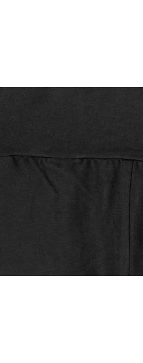 Chalk Robyn Jersey Pant Black