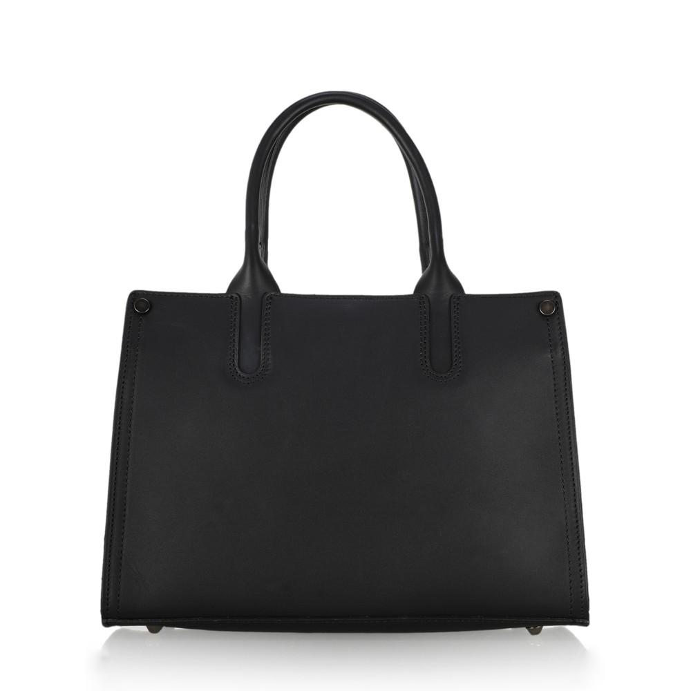 Gemini Label Bags Prairie Leather Tote Bag  Leopard