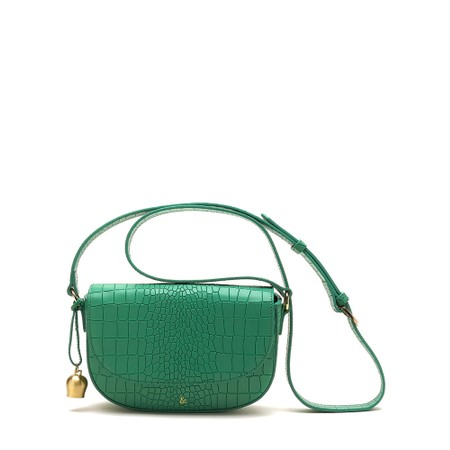 Bell & Fox Callie Mini Saddle Cross Body Bag - Green