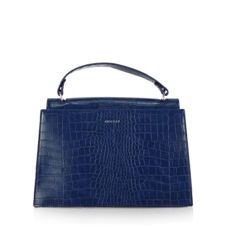 Inyati Olivia Croco Top Handle Bag - Blue