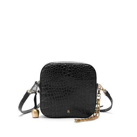 Bell & Fox Marlo Square Cross Body Bag - Black