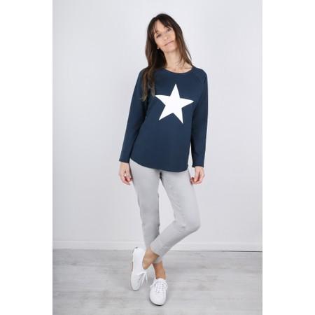 Chalk Tasha Star Top - Blue