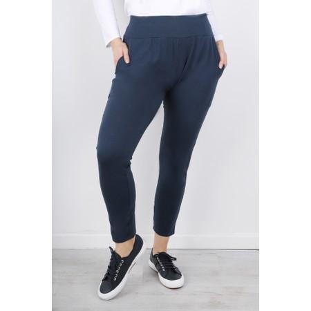 Chalk Robyn Jersey Pant - Blue