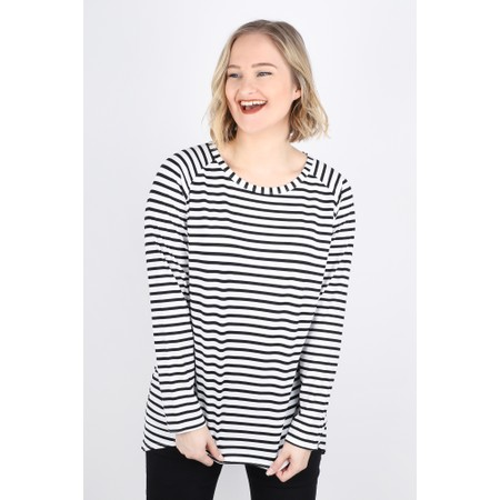 Chalk Robyn Stripe Top - Beige