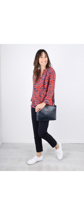 Mercy Delta Stanford Blouse Tiger Shark Wild