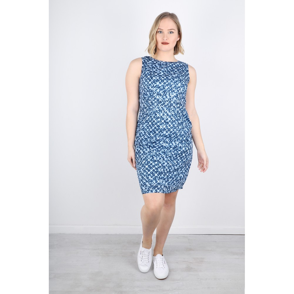 Adini Brunel Print Mandy Dress Blue