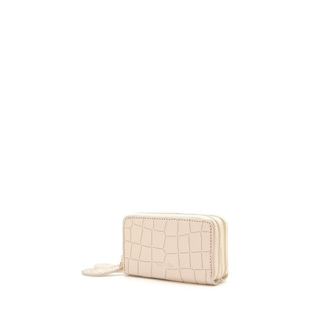 Bell & Fox Ava Mini Double Zip Purse - Pink