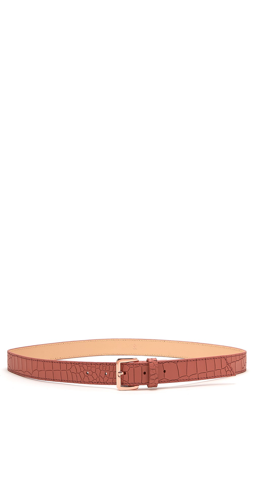 Erin Croc Leather Belt main image