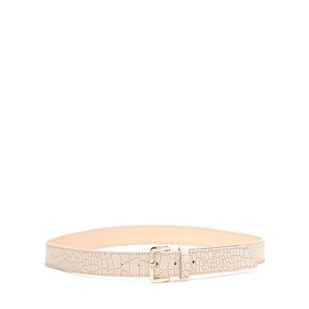 Bell & Fox Erin Croc Leather Belt - Pink