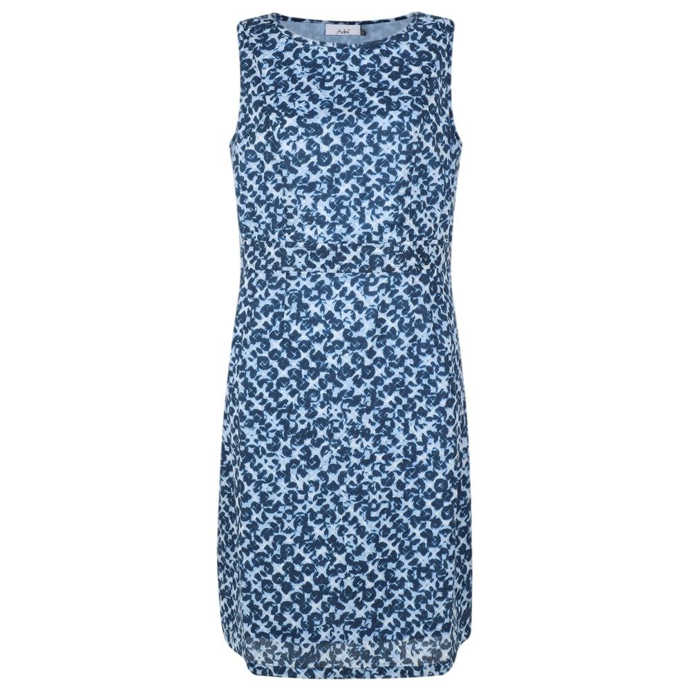 Adini Brunel Print Mandy Dress Blue