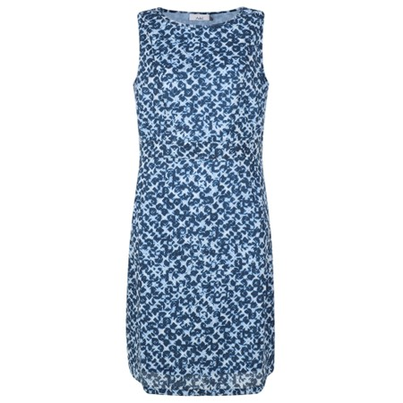 Adini Brunel Print Mandy Dress - Blue