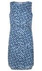 Adini Blue Brunel Print Mandy Dress