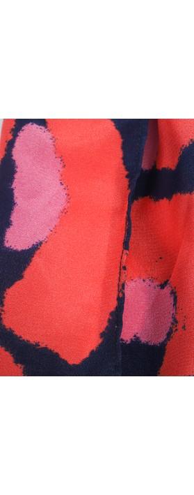 Mercy Delta Printed Scrunchie Lynx Sea