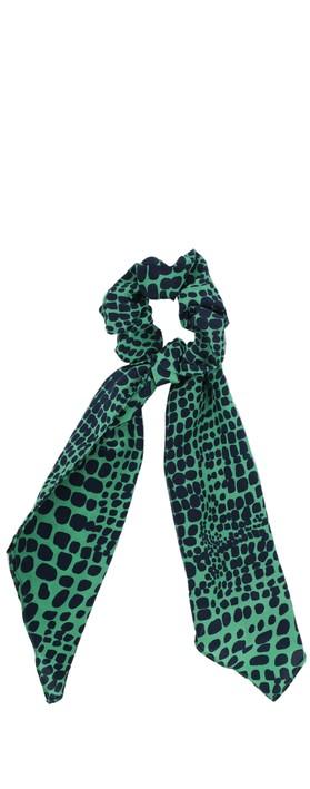Mercy Delta Printed Scrunchie Croc Jungle